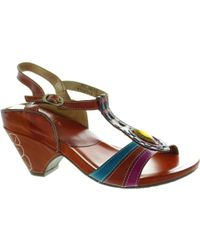 Laura Vita - Palanque Women's Sandals In Multicolour - Lyst
