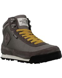 The North Face - W Back2berk Boot 2 Dark Gull Women's Shoes (high-top Trainers) In Grey - Lyst