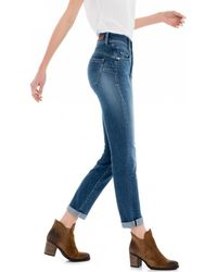 Salsa - SECRET PUSH IN 118745 femmes Jeans en bleu - Lyst