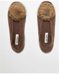 a8bb8cd637c Max   Moi - Bootees Nono Brown Woman Autumn winter Collection Women s  Slippers In Brown