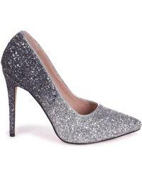 Linzi - Aston Women's Court Shoes In Silver - Lyst