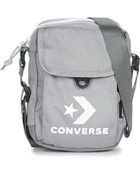 770559d1fd26 Converse Medium Fabric Bag in Black for Men - Lyst