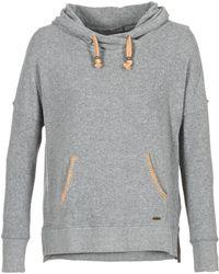 Rip Curl - Sheridan Fleece Women's Sweatshirt In Grey - Lyst