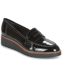 76a54964c41 Dune - Graphic Women s Loafers   Casual Shoes In Black - Lyst