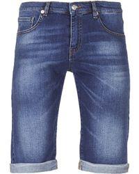 Yurban - Ixolak Men's Shorts In Blue - Lyst