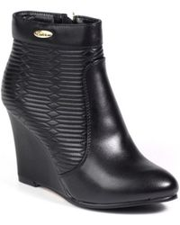 Big Star - T274185 Women's Low Ankle Boots In Black - Lyst