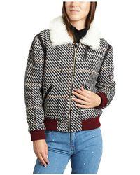 Valentine Gauthier - Edwin Jacket 48611 Grey Women's Jackets In Grey - Lyst