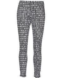 Religion - B114cqp16 Women's Trousers In Black - Lyst