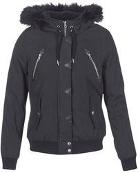 Volcom - Set List Parka Women's Jacket In Black - Lyst