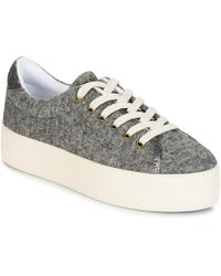 4b6e78b4d0c No Name - Plato Trainer Women s Shoes (trainers) In Grey - Lyst