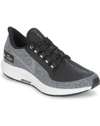 2a9829f5e57 Nike - Air Zoom Pegasus 35 Shield Women s Running Trainers In Black - Lyst