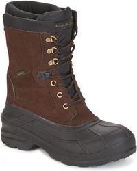 Kamik - Nation Plus Men's Snow Boots In Brown - Lyst