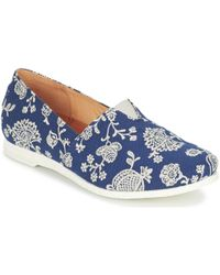 Think! - Griva Women's Slip-ons (shoes) In Blue - Lyst