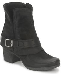 Dream in Green - Vinel Women's Low Ankle Boots In Black - Lyst