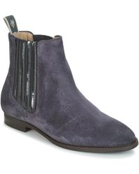 Marc O'polo - Prague 2 Women's Mid Boots In Blue - Lyst