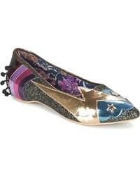 Irregular Choice - Ground Control Women's Shoes (pumps / Ballerinas) In Grey - Lyst
