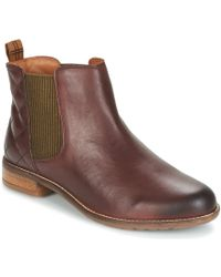 Barbour - Abigail Women's Low Ankle Boots In Brown - Lyst