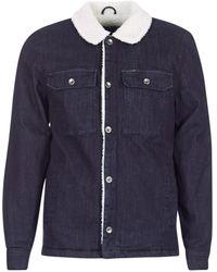 Volcom - Keaton Men's Denim Jacket In Blue - Lyst