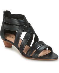 Clarks - Mena Silk Women's Sandals In Black - Lyst