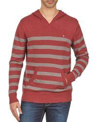 Nixon - Mckoy Jumper Men's Men's Sweatshirt In Red - Lyst
