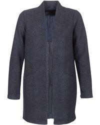 Vero Moda - Vmdafny Women's Coat In Blue - Lyst