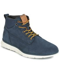 Timberland - Killington Chukka Men's Mid Boots In Blue - Lyst