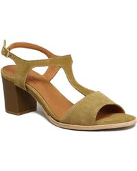 Anthology - Deauville Sandals 39400 Khaki Women's Flip Flops / Sandals (shoes) In Green - Lyst