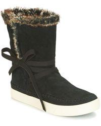 TOMS - VISTA femmes Boots en Noir - Lyst