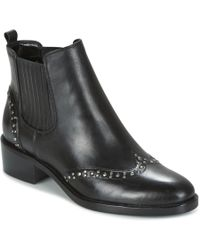 Lauren by Ralph Lauren | Cathi Women's Mid Boots In Black | Lyst