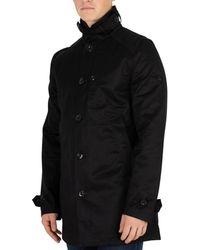 G-Star RAW - Homme Trench-coat Garber, Noir hommes Trench en Noir 393e5799ee6d