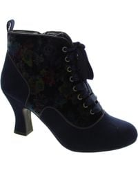 Ruby Shoo - Bailey Women's Low Ankle Boots In Blue - Lyst