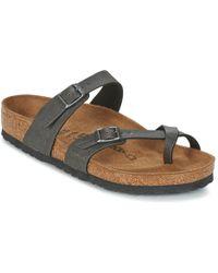 Birkenstock - Mayari Women's Mules / Casual Shoes In Grey - Lyst