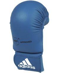 adidas - Mitt original gel bleu hommes Accessoire sport en bleu - Lyst