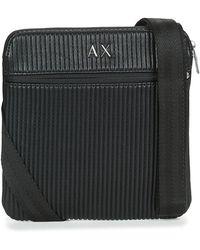 Armani Exchange - Troudimo Men's Pouch In Black - Lyst
