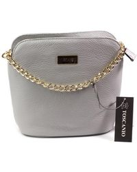 Toscanio - 1640 Women's Handbags In Grey - Lyst