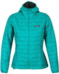 Patagonia - W's Nano Puff Hoody Women's Jacket In Blue - Lyst