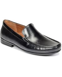 Clarks - Claude Plain Men's Loafers / Casual Shoes In Black - Lyst