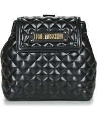 Love Moschino - Jc4206pp07 Women's Backpack In Black - Lyst