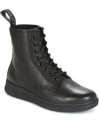 Dr. Martens | Newton Bts Men's Mid Boots In Black | Lyst