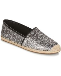 MICHAEL Michael Kors - Kendrick Women's Espadrilles / Casual Shoes In Silver - Lyst