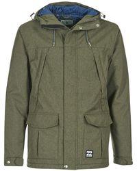 Billabong - Alves 10k Jacket Men's Parka In Green - Lyst