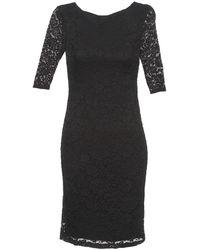 en Chigi vestido negro de mujer L35AR4j
