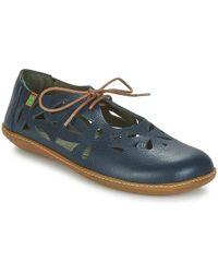 El Naturalista - El Viajero Women's Shoes (pumps / Ballerinas) In Blue - Lyst