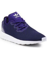 6433cf10c adidas - Zx Flux Adv Asym S79053 Men s Shoes (trainers) In Purple - Lyst