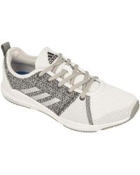 buy popular bd62d d17f2 adidas - Arianna Cloudfoam W Womens Shoes (trainers) In White - Lyst