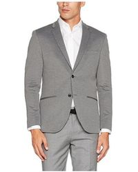 f44d933bf3 Jack   Jones - Americana Jprsteven Blazer Noos Gris Men s Jacket In Grey -  Lyst