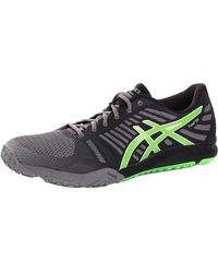 Asics - Fuzex Tr 9685 Men's Shoes (trainers) In Black - Lyst