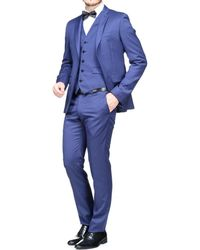 Azzaro - Costume 3 pièces hommes Costumes en bleu - Lyst