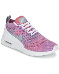 wholesale dealer 09c31 06b27 Nike - Air Max Thea Ultra Flyknit W Women's Shoes (trainers) In Pink -