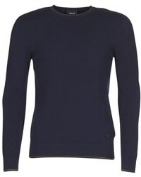 Armani Jeans - Memel Men's Jumper In Blue - Lyst